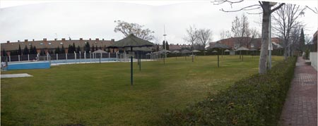 Instalaciones club buenavista for Piscina getafe